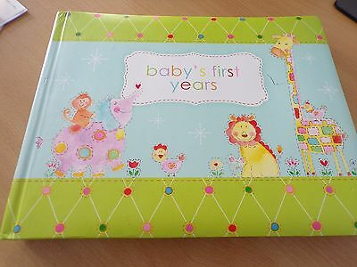 Baby's First Years Picture Book New With Slight Marks 99p Start