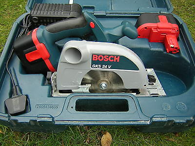 BOSCH Circular SAW 24V  batteries charger