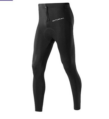 Altura Blitz Waisted Women's Cycling Tights. Thermal/ Reflective. Size 10