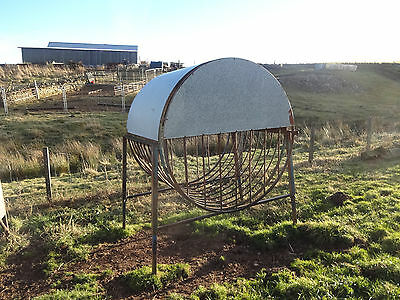 Covered Hay Feeder