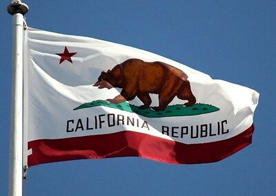 NEW 2x3 ft CALIFORNIA REPUBLIC BANNER FLAG
