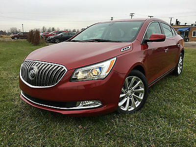 2014 Buick Lacrosse Base Sedan 4-Door 2014 Buick Lacrosse like new in and out low miles with rebuilt title !!!