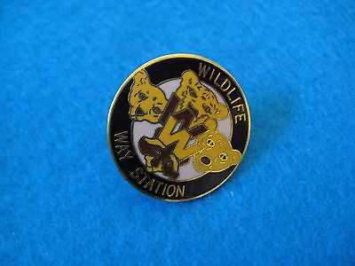 Wildlife Way Station Collector Pin
