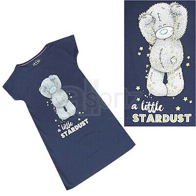 Girls UK Store Tatty Teddy Blue Sparkle Nightdress Nightie Night Dress Age M S