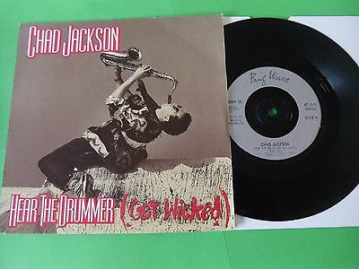 """Chad Jackson - Hear The Drummer (Get Wicked)  7""""  90  Vg"""