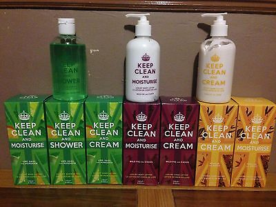 Joblot Of Hand creams And Shower Gel All 250ml
