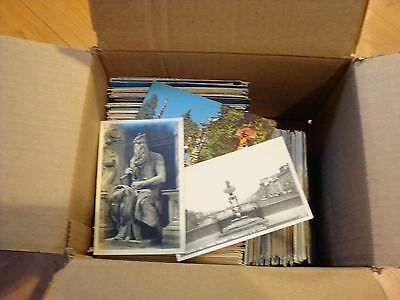 LOT of 700+ MIX From early 1900' to present Vintage Poastcard UNPOSTED & POSTED