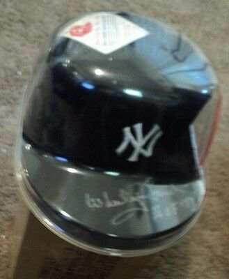 Whitey Ford New York Yankees H.O.F. New Era Autographed Signed Hat Cap JSA Cert