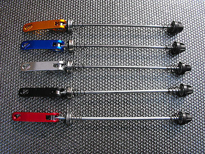 Cycle - A NEW Quick Release ALLOY - REAR WHEEL SKEWER _Choice of colours