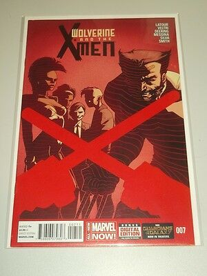 Wolverine And The X-Men #7 Marvel Now Comics Nm (9.4)