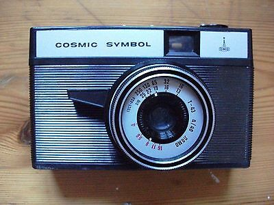 Nomo Cosmic Symbol 35mm Film Camera with hard case  Rare and Collectable