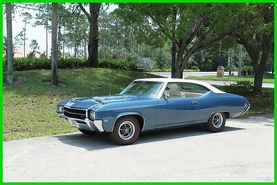 1969 Buick GS 400 Grand Sport GS 400 V8 Hardtop 1969 Buick GS 400 V8 Skylark 69 Grand Sport Muscle Car Air Condition Bucket Seat
