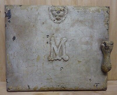 Antique Majestic Co Milk & Package Receiver Door Huntington Ind pat 1916