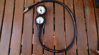 Oceanic Console SPG & Depth Meter with Thermometer in Co - Bar/Metric