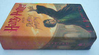 Harry Potter And The Deathly Hallows - Rare Usa 1St Edition Book - Hardback Us
