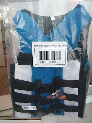 TWF 4 Strap Buoyancy Aid Size 30-50kg Blue/white Size 1 All In Price £23.99