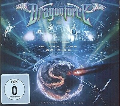 DragonForce - In the Line of Fire [New CD] UK - Import