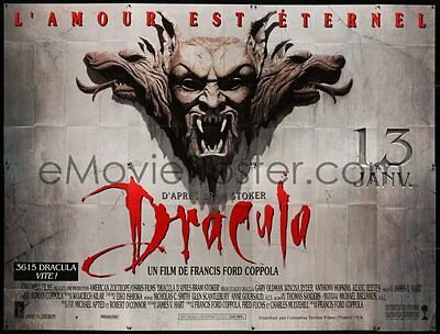 Coppola - Dracula - large 10 x 13 ft French 8 panel  billboard poster