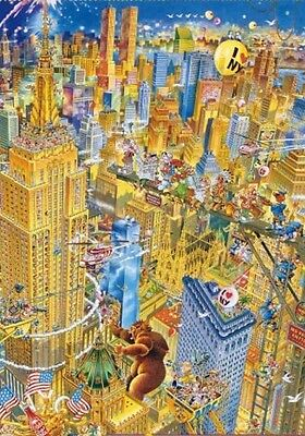 MANHATTAN by RYBA 1000 pieces HEYE puzzle 1.000 p NEW sealed box I LOVE NEW YORK