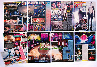 Pink Floyd  Mini Poster / Cutting / Clipping  From Various Rock Magazine  # 2
