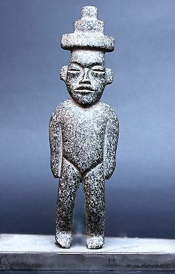 Pre columbian Guerrero, Mexico, Teotihuacan influence STANDING FIGURINE 7''.