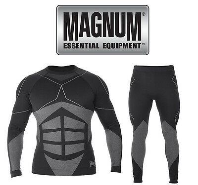 MAGNUM Men's Sports Ski Moto Thermal underwear Functional SET {MAGNUM3}
