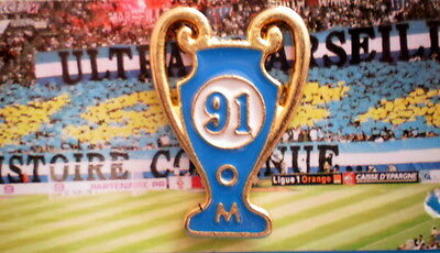 Pin's OM  Olympique de Marseille Foot - COUPE 91