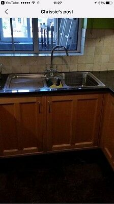 bespoke kitchen units With Granite Work Tops