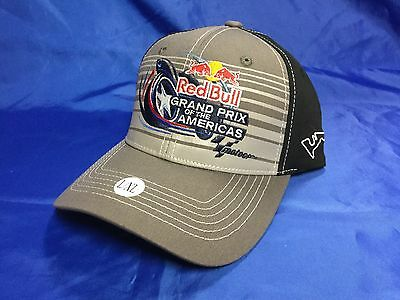 RED BULL Grand Prix Of The Americas Event Hat GREY Size S/M NWT $30 MOTO GP