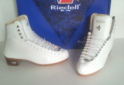 Riedell 2016 #435 Bronze Star figure skate boots 4C or 5 C  NEW!
