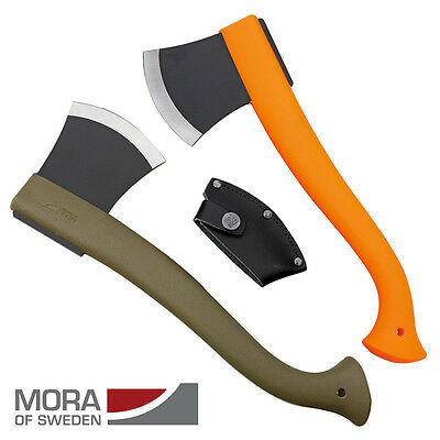 Mora Camp Axe Hatchet Bushcraft Forest Swedish Small Outdoor Olive or Orange UK