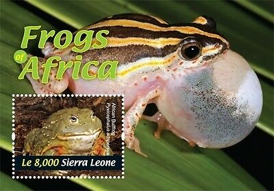 Sierra Leone - Frogs of Africa, 2011 - Sc 3061 S/S MNH