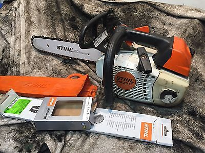 STIHL MS201T 2014 Top Handle Petrol Chainsaw. Free Courier. GWO