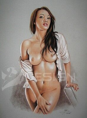 PIN-UP ART * DRAWING #6686 * by SLY