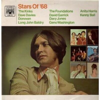 STARS OF '68 Various LP VINYL 10 Track Compilation Featuring The