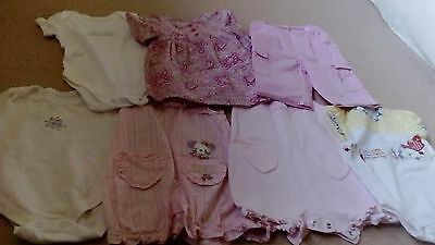Baby Girls Bundle Of Clothes Age 3-6 Months EXCELLENT