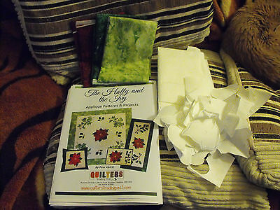 Quilting Kit Called The Holly And The Ivy