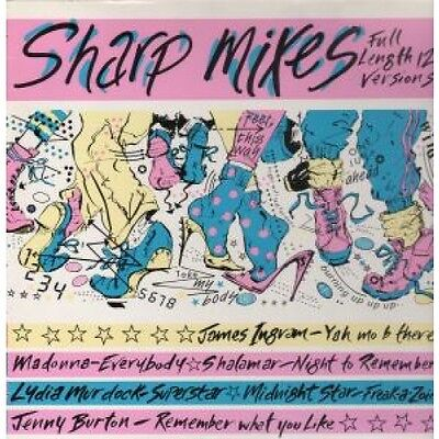 "SHARP MIXES Various LP VINYL 6 Track Full Length 12"" Versions Featuring James"