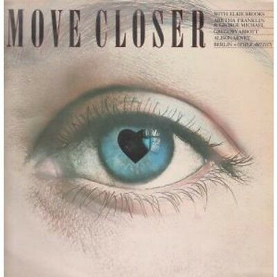 MOVE CLOSER Various LP VINYL 15 Track Compilation Featuring Berlin, Simply Red