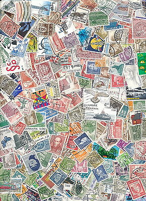.Denmark 600 Different used.