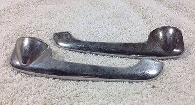 Set Of  Antique CAR DOOR HANDLES Rat Rod Repurpose Steampunk Drawer Salvage
