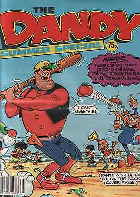 The Dandy Summer Special 1990:published By D.c.thomson