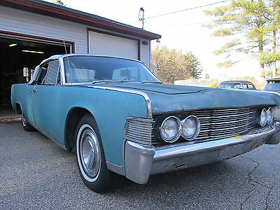1965 Lincoln Continental CONTINENTAL 1965 LINCOLN CONTINENTAL CONVERTIBLE EXCELLENT PROJECT OR A DONOR CAR