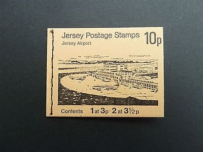 """JERSEY MH MARKENHEFTCHEN OLD BOOKLET """"JERSEY AIRPORT"""" FROM 1974 d1130"""