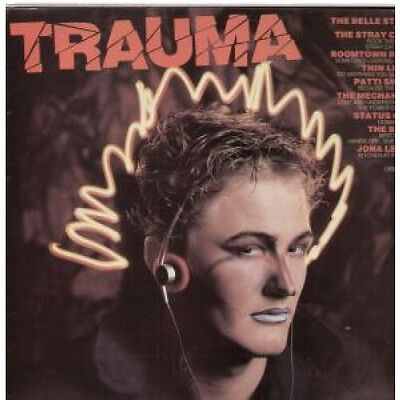 TRAUMA COMPILATION Various LP VINYL 14 Track Featuring Belle Stars, Stray