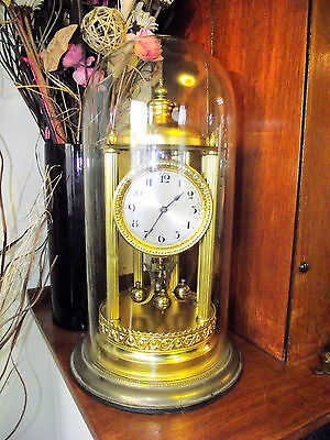 Antique Kieninger & Obergfell Large 400 Day Bandstand Style Clock. Circa 1930's
