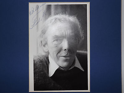 Vintage Frank Muir Hand Signed Real Photograph / Autograph /comedy Actor