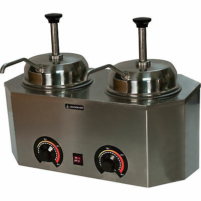 Pro-Deluxe Dual Warmer with 2 Pumps