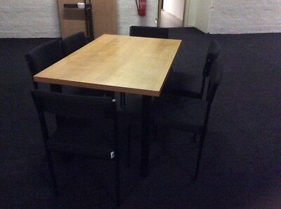 Beech Colour Rectangle Meeting / Conference Table