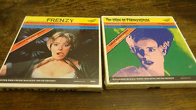 super 8 films frenzy and the bride of frankenstein still sealed